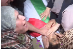 Gazans Hold Funeral for Young Palestinian Killed by Israeli Troops