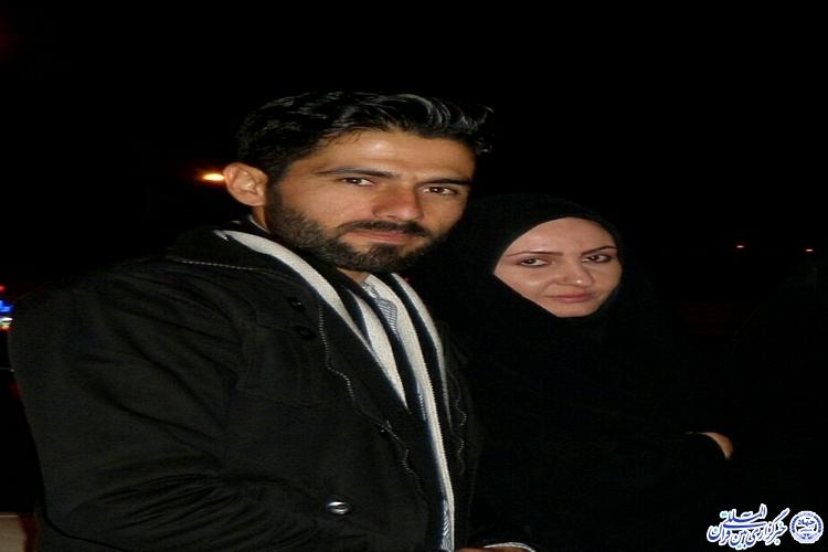 برگزاری جشن ازدواج در کنار شهید/ناگفته های همسر شهید مدافع حرم مهندس دامرودی