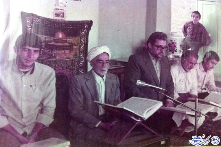 معلم قرآنی که شهدای سبزوار پای درسش بودند