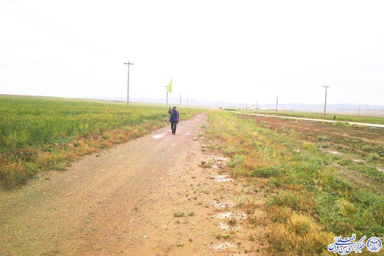 15 سال پیاده در راه نماز جمعه خوشاب