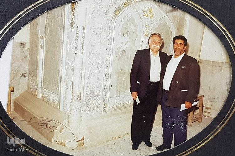 روایتی از 68 سال خدمت خالصانه پیرغلام حضرت شمسالشموس(ع)